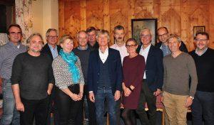 Der neue Vorstand mit den Beiräten. Foto: Albin Ritsch