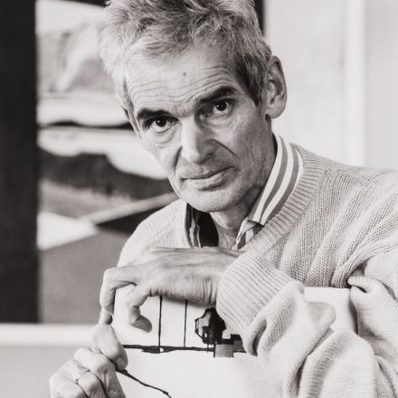 Der Wörgler Fotograf und Maler Helmuth Ascher (1930-2013). Foto: Christoph Ascher