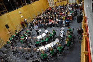 Cäcilienkonzert der Jungmusik Bruckhäusl 2018. Foto: Veronika Spielbichler