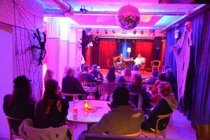 """""""Der Organist"""" - Lesung am 31.10.2018 in der Zone Wörgl. Foto: Veronika Spielbichler"""