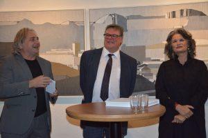 Ausstellung Helmuth Ascher 80plus am 23.11.2018 in der Galerie am Polylog. Foto: Veronika Spielbichler