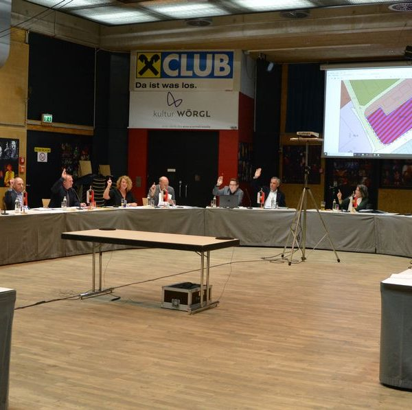 Wörgler Gemeinderat am 8. November 2018. Foto: Veronika Spielbichler
