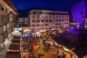 Stimmungsvoller Treffpunkt im Advent: Der Wörgler Christkindlmarkt hat jeden Samstag bis Weihnachten von 15-20 Uhr geöffnet.Foto: Stefan Ringler
