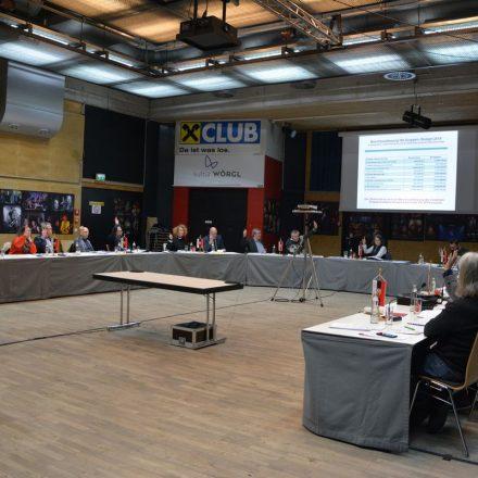 Wörgler Gemeinderat am 13. Dezember 2018. Foto: Veronika Spielbichler
