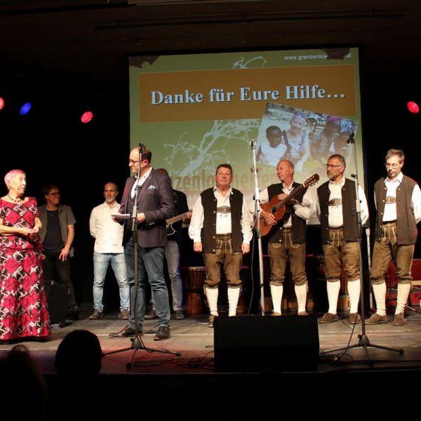 Benefizkonzert Grenzenlos helfen am 1.12.2018 im Komma Wörgl. Foto: Wilhelm Maier