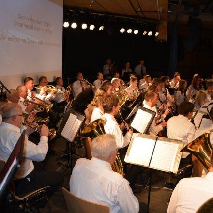 Cäcilienkonzert der Stadtmusikkapelle Wörgl am 7. Dezember 2018. Foto: Veronika Spielbichler