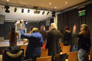 """Forumtheater """"Geh nicht"""" am 14.12.2018 in der Zone Wörgl. Foto: Veronika Spielbichler"""