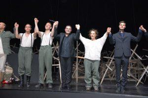 Uraufführung der Oper Stillhang am 28.12.2018 im Festspielhaus Erl. Foto. Veronika Spielbichler