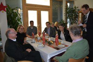 Weihnachtsfeier im Seniorenheim Wörgl am 20.12.2018. Foto: Veronika Spielbichler