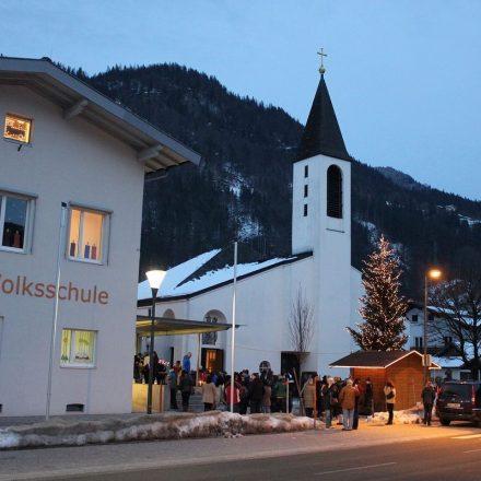 Die Holzmeister-Kirche in Bruckhäusl ist Austragungsort von Weihnachtskonzerten am 14. und 22. Dezember 2018. Foto: Veronika Spielbichler