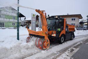 Das neue Multicar M29C im Einsatz. Foto: Stadtgemeinde Wörgl