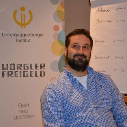 Heinz J. Hafner leitet den CryptoCircle des Unterguggenberger Institutes. Foto:Veronika Spielbichler
