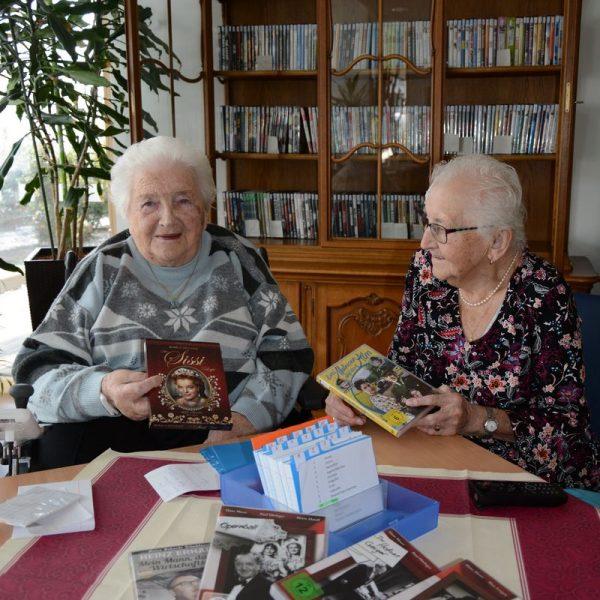 Neu: Kostenloser hausinterner Video-DVD-Verleih im Seniorenheim Wörgl ab Jänner 2019. Foto: Veronika Spielbichler