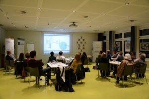 Vortrag Gemeinwohlökonomie und Spiel Enkeltauglich leben am 17.1.2019 im Tagungshaus Wörgl. Foto: Veronika Spielbichler