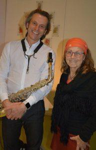 Brigitte Gmach - Reiseengel - Ausstellung und Lesung im Tagungshaus Wörgl am 18.1.2019. Foto: Veronika Spielbichler