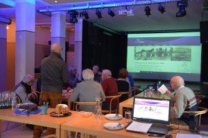 """""""Seinerzeit-Nachmittag"""" von heimat.woergl.at in der ZONE Wörgl am 24.1.2019. Foto: Veronika Spielbichler"""