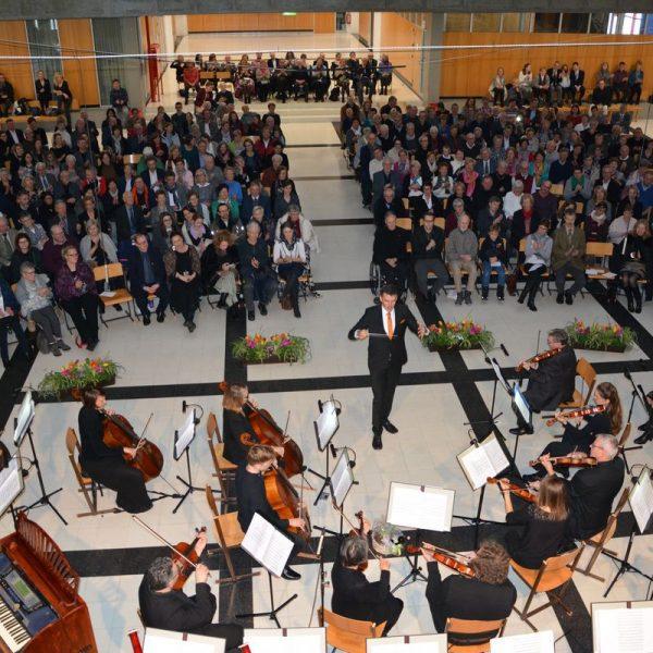 Neujahrskonzert des Wörgler Streicher- und Bläserensembles am 13.1.2019. Foto: Veronika Spielbichler