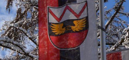 Wörgl Flagge Winter. Foto: Veronika Spielbichler