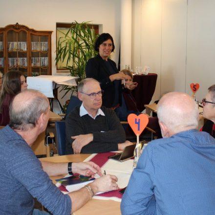 Mag. Julia Rhomberg (Land Tirol) brachte viele Neuigkeiten ins Vernetzungstreffen. Foto: Wilhelm Maier
