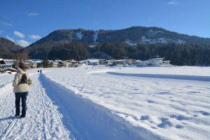 Winterwanderweg Bad Häring im Jänner 2019. Foto: Veronika Spielbichler