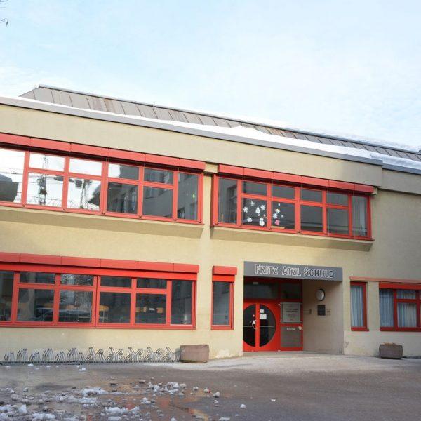 Fritz Atzl Schule Wörgl im Februar 2019. Foto: Veronika Spielbichler