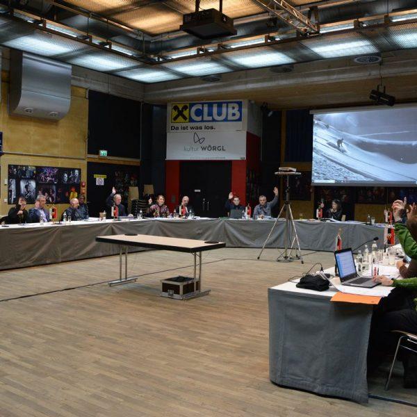 Wörgler Gemeinderat am 19. Februar 2019. Foto: Veronika Spielbichler