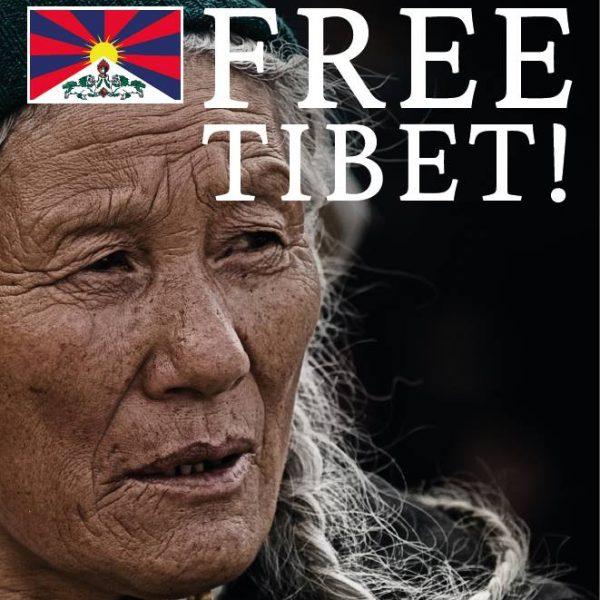 """Zum """"Tibetan uprising day"""", der traditionell am 10. März jeden Jahres gefeiert wird, werden auch heuer Tibetische Fahnen in Kufstein und Wörgl gehisst. Foto: Free Tibet"""