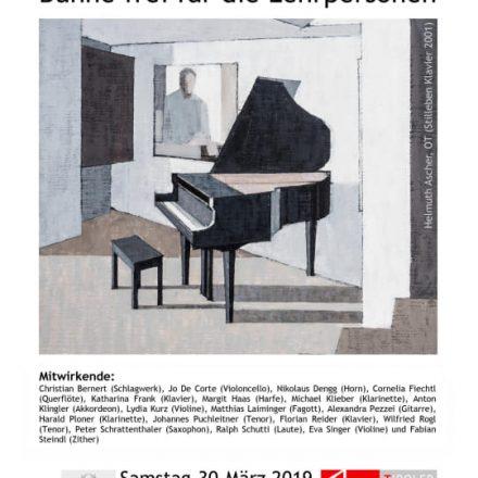 Plakat LMS Lehrer in Concert. Grafik: LMS Wörgl