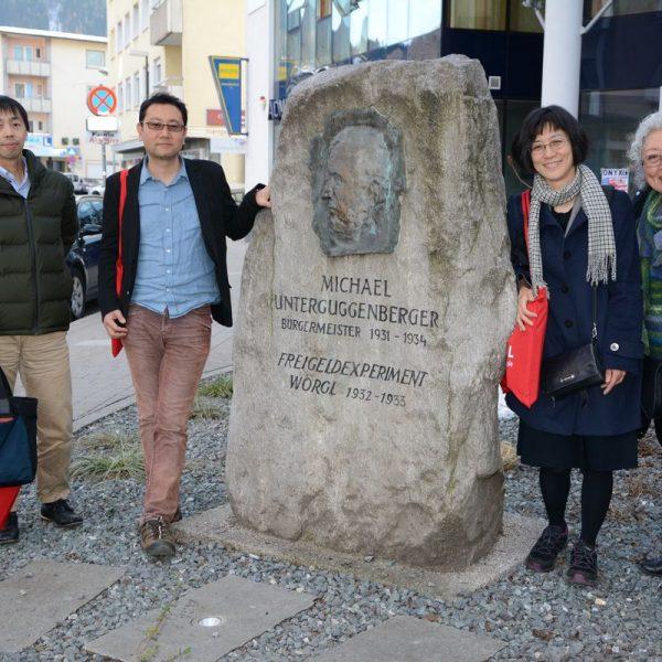 Besuch aus Japan in Wörgl am 28.2.2019. Foto: Veronika Spielbichler