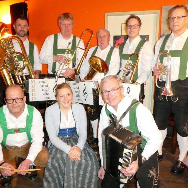 MUNDO - Mia und ned de oan unterhalten auch heuer wieder beim Bockbierfest am Aschermittwoch in der Sito-Bar Wörgl. Foto: Wörgler für Wörgler