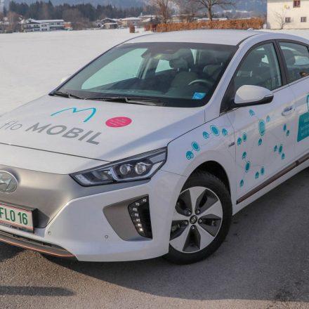 Die Stadtwerke laden Unternehmen und Gemeinden zum Testen des eCarsharings mit den floMOBIL-Fahrzeugen. Foto: Stadtwerke Wörgl GmbH