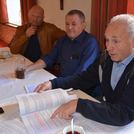 Pressekonferenz zur Aushubdeponie Pinnersdorf am Riederberg in Wörgl am 6.3.2019. Foto: Veronika Spielbichler