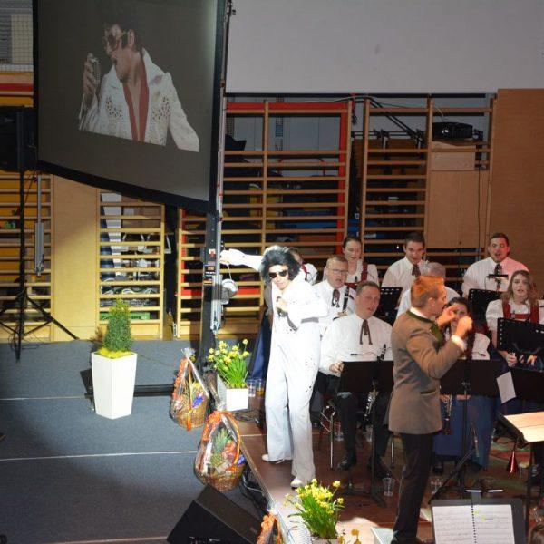 Frühjahrskonzert BMK Bruckhäusl am 9. März 2019. Foto: Veronika Spielbichler