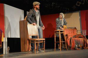 """Premiere """"Herbstrasen"""" von Theater unterLand in der Komma Blackbox am 21.3.2019. Foto: Veronika Spielbichler"""