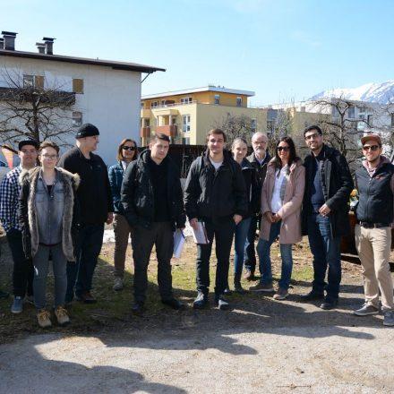 Südwind Stadtrundgang Ethischer Konsum am 21.3.2019 in Wörgl. Foto: Veronika Spielbichler