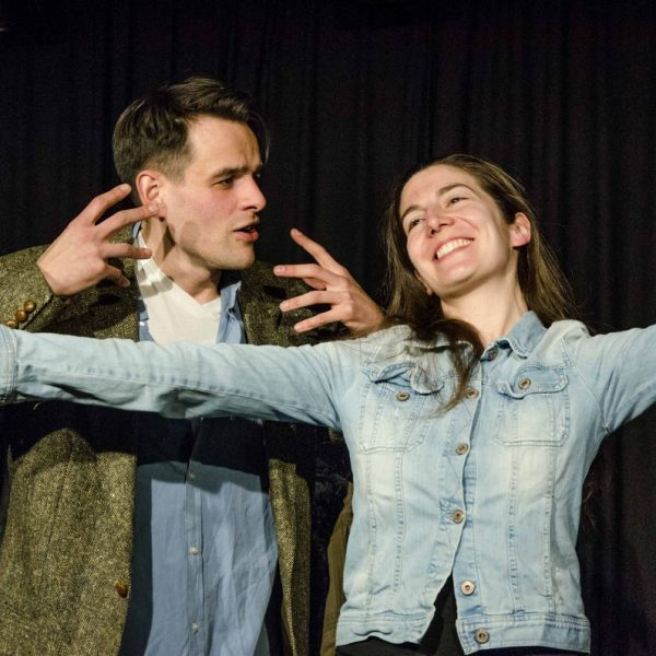 Es spielen: Veronika Schmidinger & Peter Maier. Foto: Stefan Bric