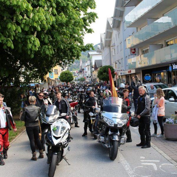 Motorradweihe Wörgl 2019. Foto: Wilhelm Maier