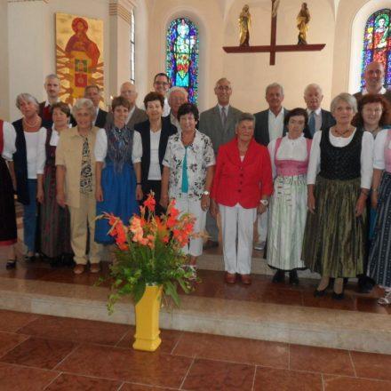 Freuen sich schon auf die musikalische Gestaltung der Liturgiefeiern in der Karwoche: Die Mitglieder des Stadtpfarrchores Wörgl. Foto: Stadtpfarrchor Wörgl