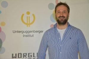 Was kann die Blockchain? - Vortrag mit Heinz J. Hafner vom Unterguggenberger Institut am 2.4.2019 im Tagungshaus Wörgl. Foto: Veronika Spielbichler