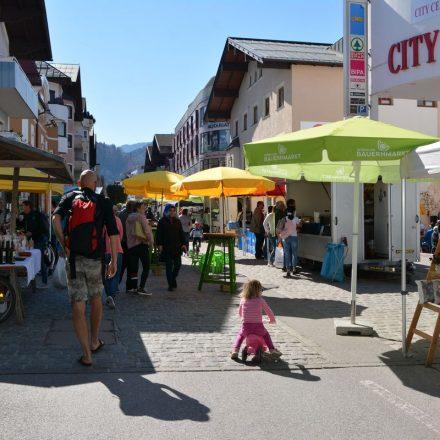 Wörgler Bauernmarkt am 20.4.2019. Foto: Veronika Spielbichler