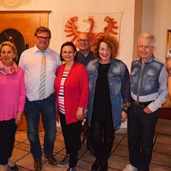 Der neu gewählte Vorstand des Heimatmuseumsvereines Wörgl am 4. April 2019. Bildnachweis: David Spielbichler