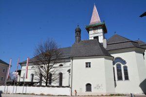 Kirchenrenovierung Wörgl am 1. April 2019. Foto: Veronika Spielbichler