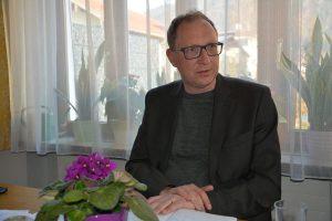 Pfarrgemeinderatsobmann Heinz Werlberger am 1. April 2019 im Pfarrhof. Foto: Veronika Spielbichler