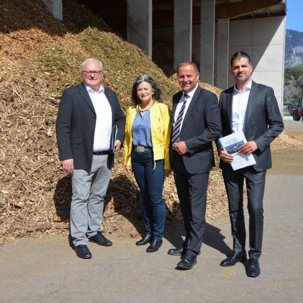 """Pressekonferenz """"Wie heizt Tirol"""" Pilotprojekt PV29 am 24.4.2019 in Wörgl. Foto: Veronika Spielbichler"""