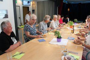 Freigeld Interessierte besuchen Wörgl - Gruppen aus Augsburg, Salzburg, Innsbruck und Vorarlberg kamen im Mai 2019. Foto: Veronika Spielbichler