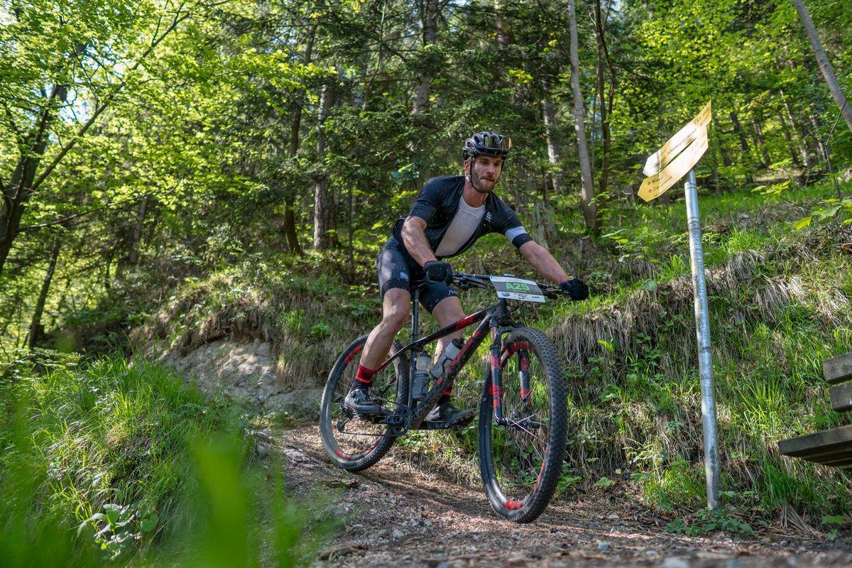 Downhill mit dem Mountainbike... Foto: Stefan Ringler