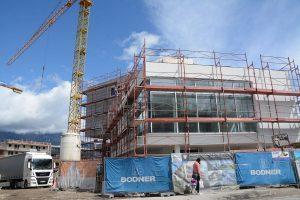 Baustellen in Wörgl im Mai 2019. Foto: Veronika Spielbichler