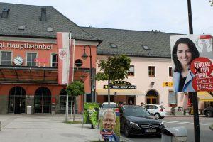 Bei der EU-Wahl am 26. Mai 2019 erzielte die ÖVP in Wörgl mit 32,56 % die meisten Stimmen. Foto: Veronika Spielbichler