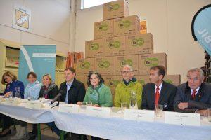Re-Use Pressekonferenz im Wertstoffhof am 15.5.2019. Foto: Veronika Spielbichler