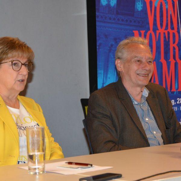 Pressekonferenz der Schlossbergspiele Rattenberg am 28. Mai 2019. Foto: Veronika Spielbichler